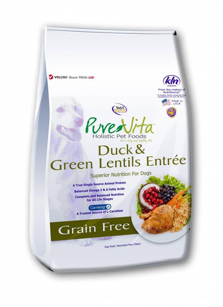 Pure Vita Pure Vita Grain Free Duck & Green Lentils