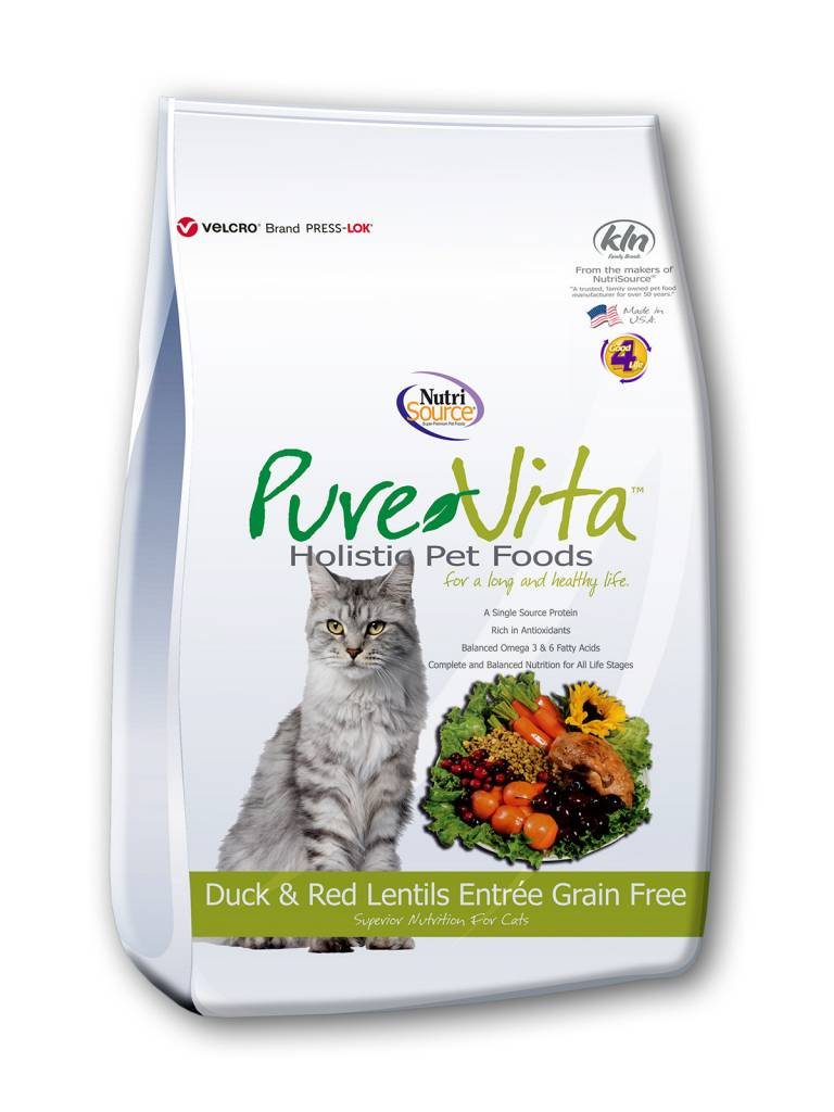 Pure Vita Pure Vita Grain Free Duck & Green Lentils Cat