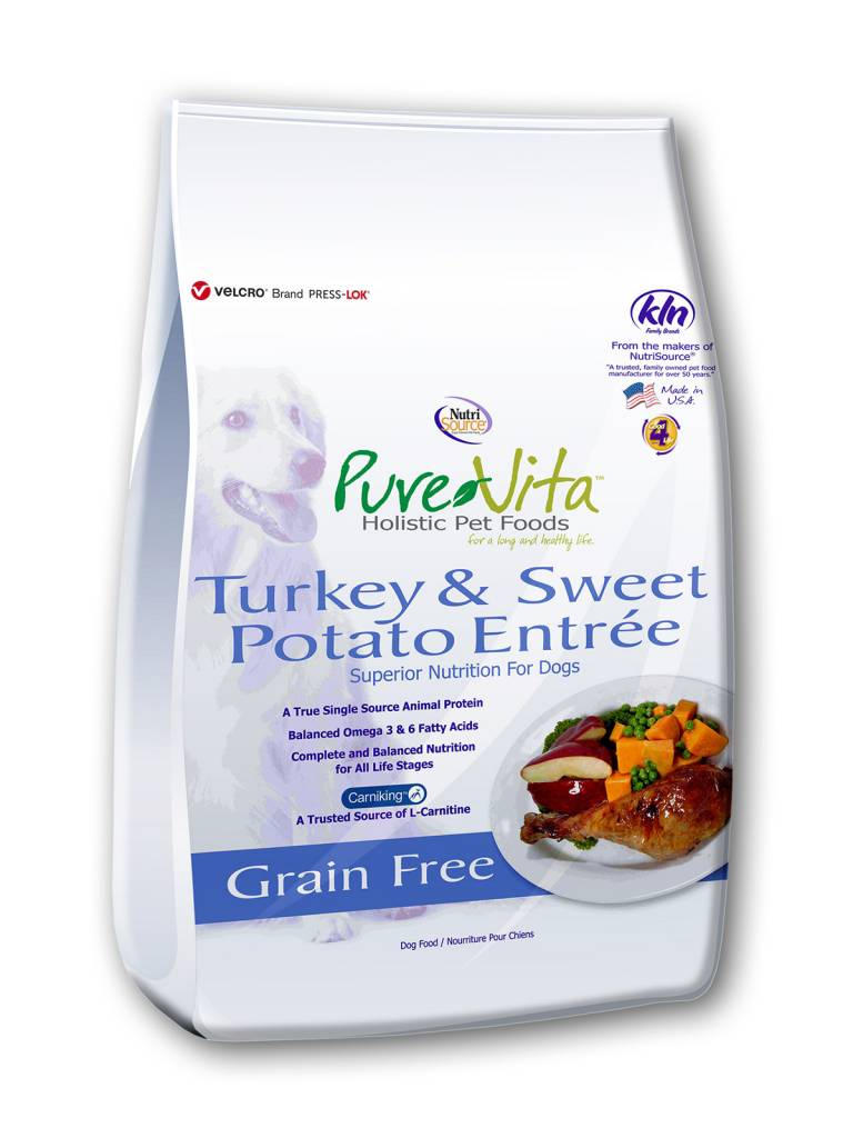 Pure Vita Pure Vita Grain Free Turkey & Sweet Potato Entree