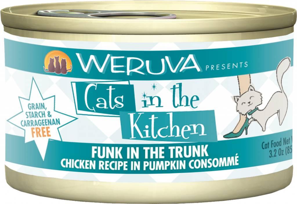 Weruva Weruva Cats in the Kitchen Funk in the Trunk Chicken Recipe in Pumpkin Consommé For Cats