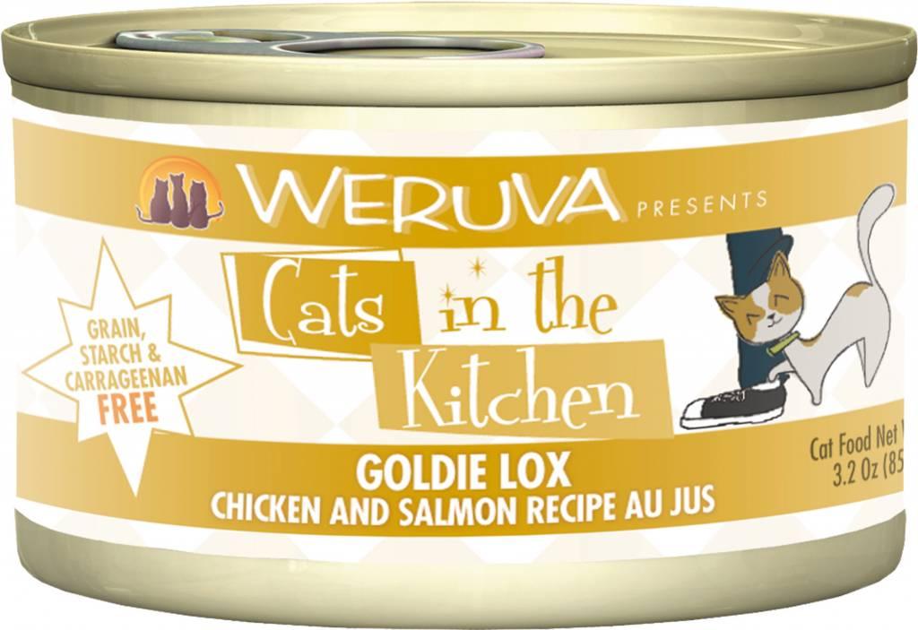 Weruva Weruva Cats in the Kitchen Goldie Lox Chicken and Salmon Recipe Au Jus For Cats
