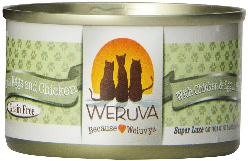 Weruva Weruva Green Eggs & Chicken in Pea Soup For Cats