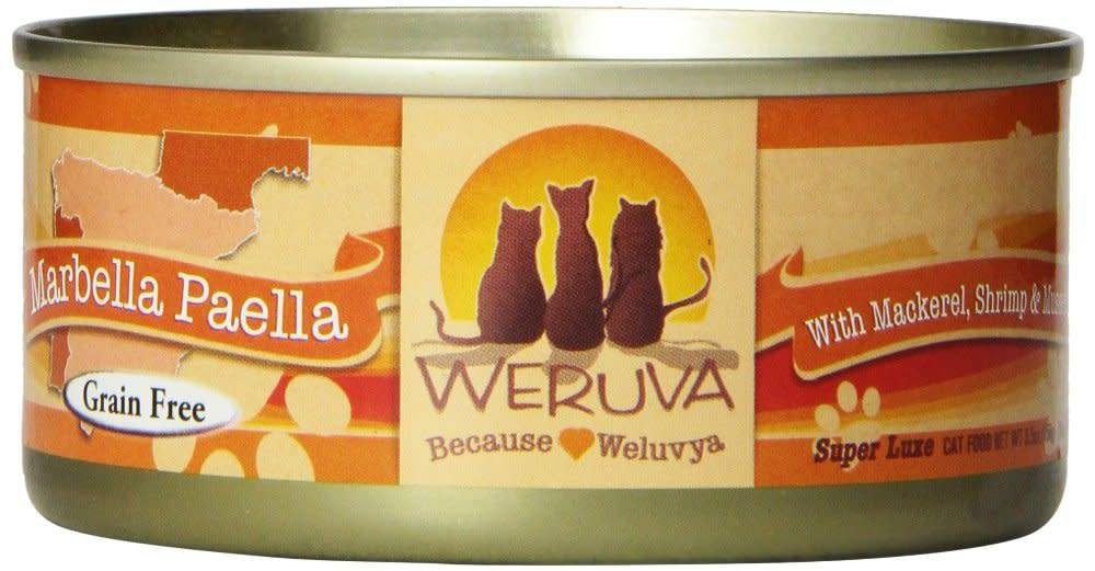 Weruva Weruva Marbella Paella with Mackerel, Shrimp & Mussels in Gravy For Cats