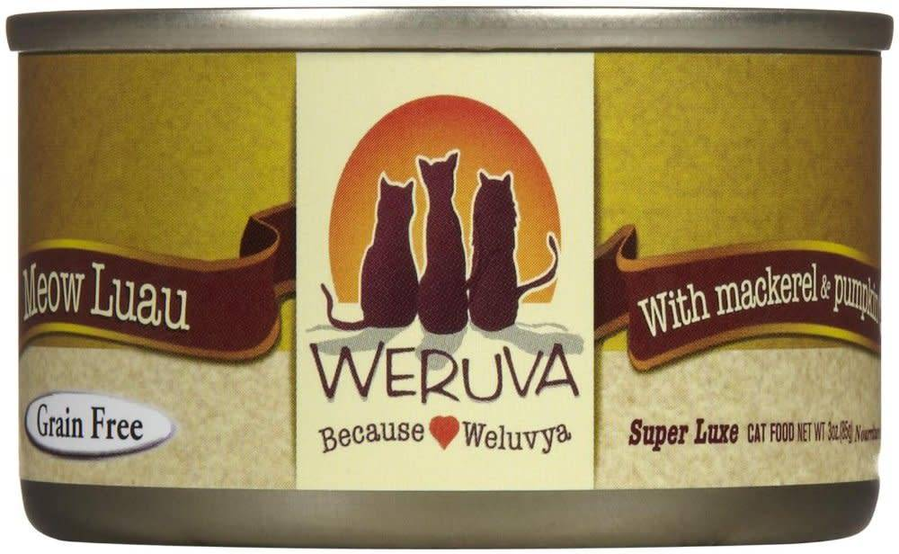 Weruva Weruva Meow Luau with Mackerel & Pumpkin in Gravy For Cats