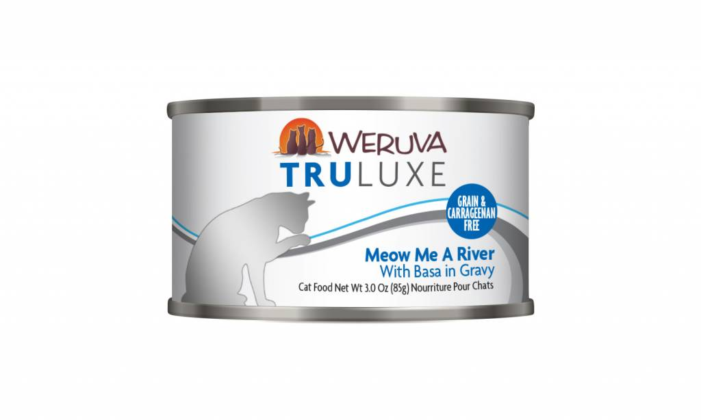 Weruva Weruva Truluxe Meow Me a River with Basa in Gravy For Cats