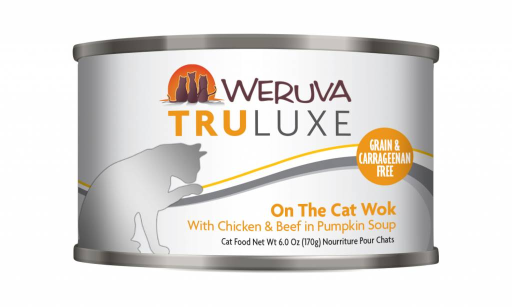 Weruva Weruva Truluxe On the Cat Wok with Chicken & Beef in Pumpkin Soup For Cats