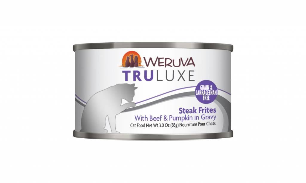 Weruva Weruva Truluxe Steak Frites with Beef & Pumpkin in Gravy For Cats