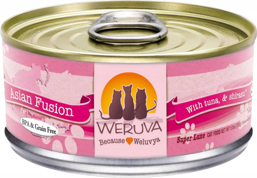Weruva Weruva Asian Fusion with Tuna & Shirasu in Gravy For Cats
