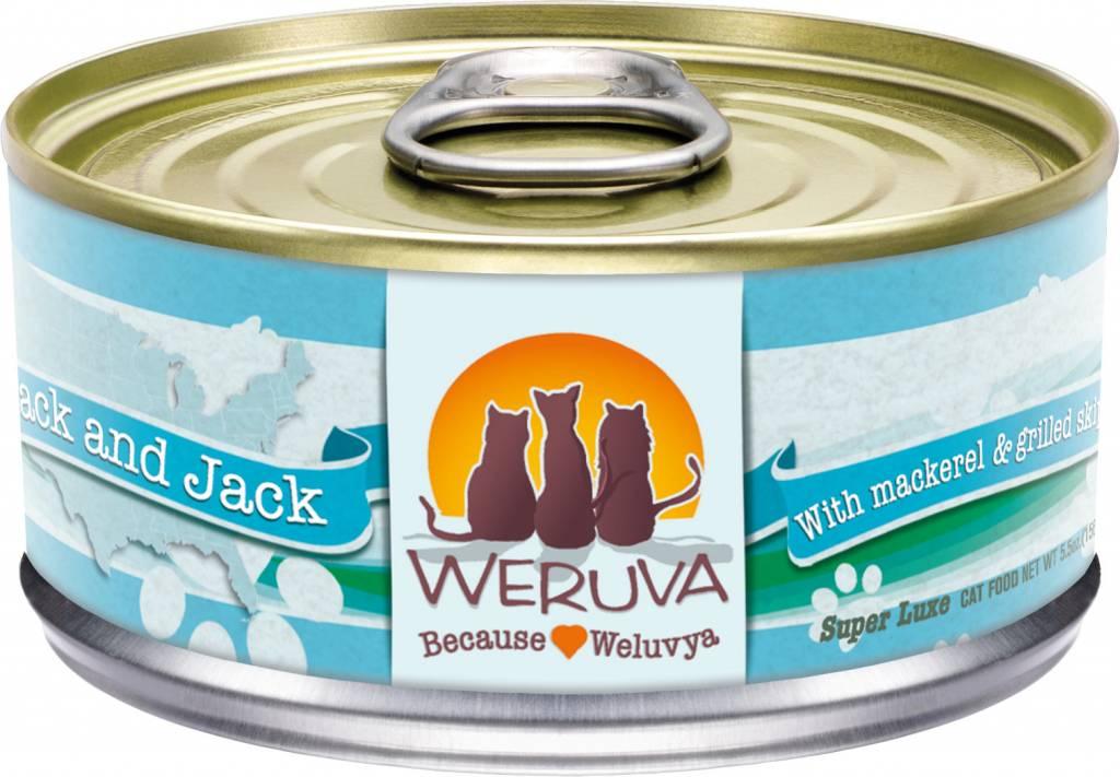 Weruva Weruva Mack and Jack with Mackerel & Grilled Skipjack in gravy For Cats
