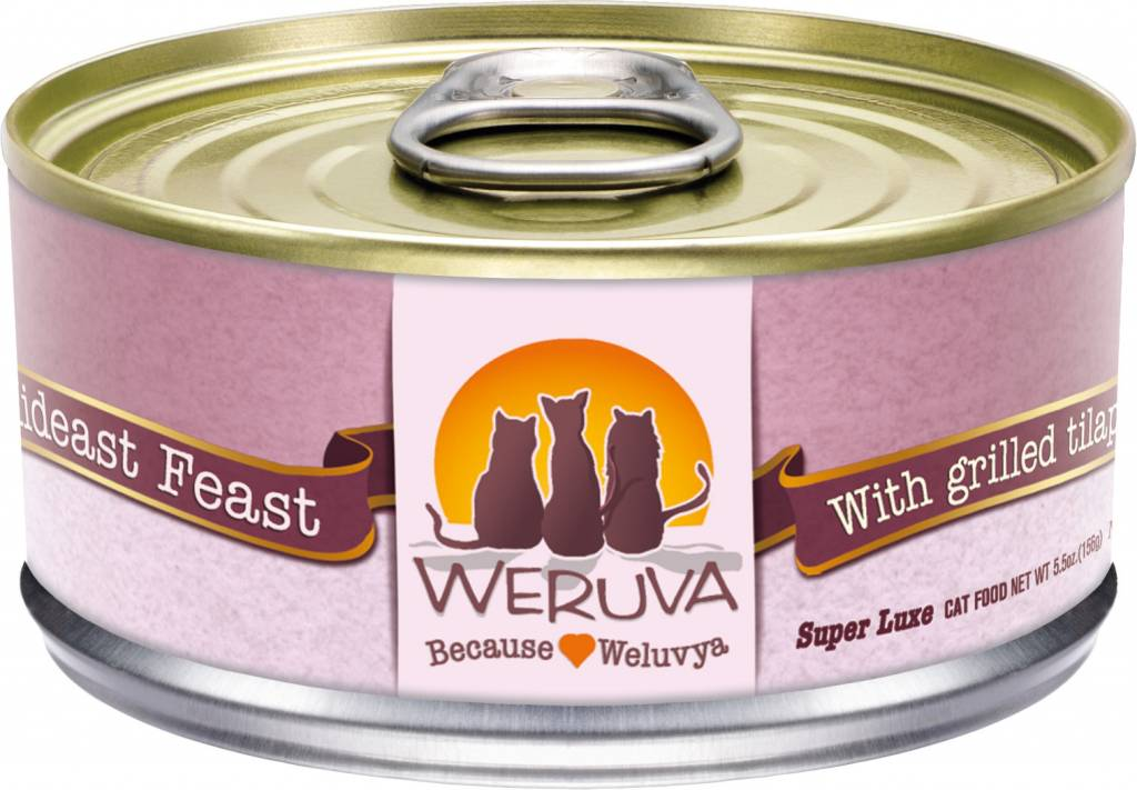 Weruva Weruva Mideast Feast with Grilled Tilapia in Gravy For Cats