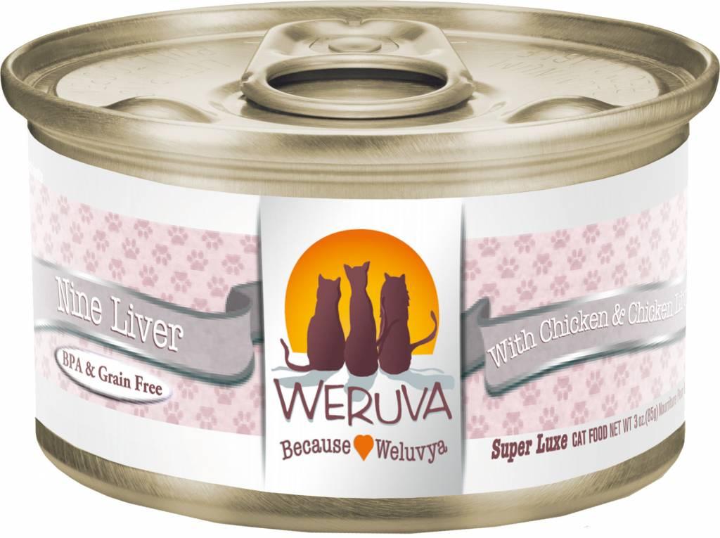 Weruva Weruva Nine Liver with Chicken & Chicken Liver in Gravy For Cats