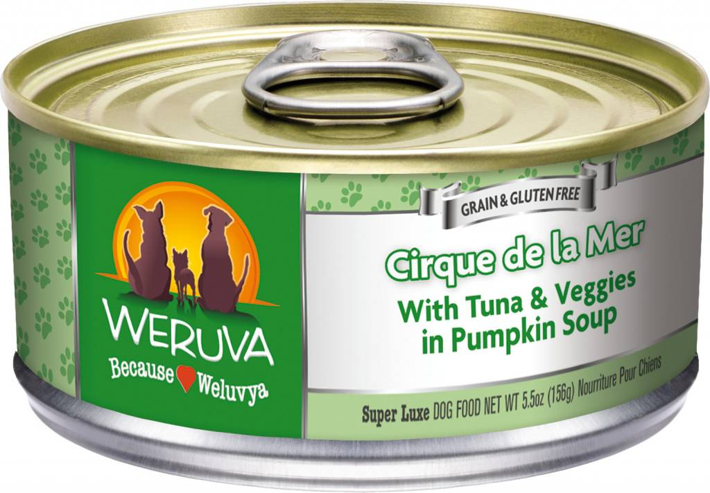 Weruva Weruva Cirque de la Mer with Tuna & Veggies in Pumpkin Soup