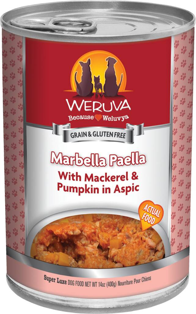 Weruva Weruva Marbella Paella with Mackerel & Pumpkin in Aspic