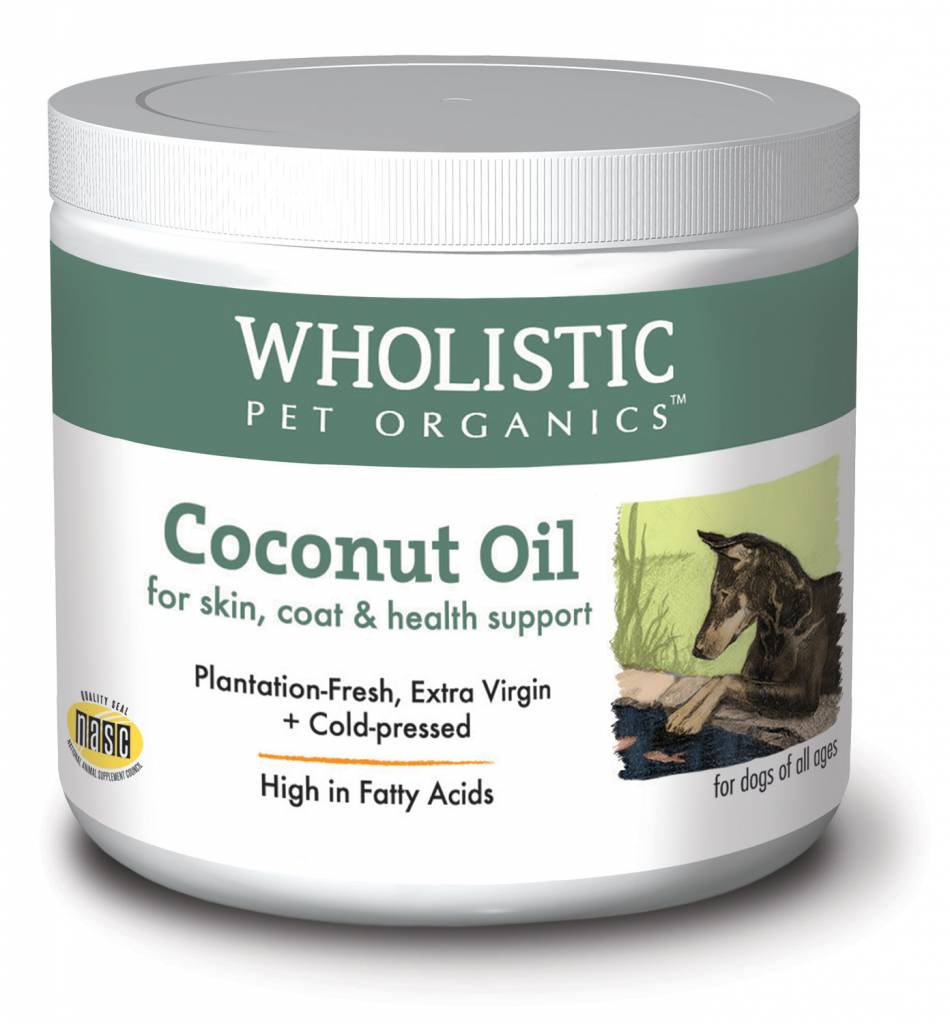 Wholistic Pet Organics Wholistic Coconut Oil