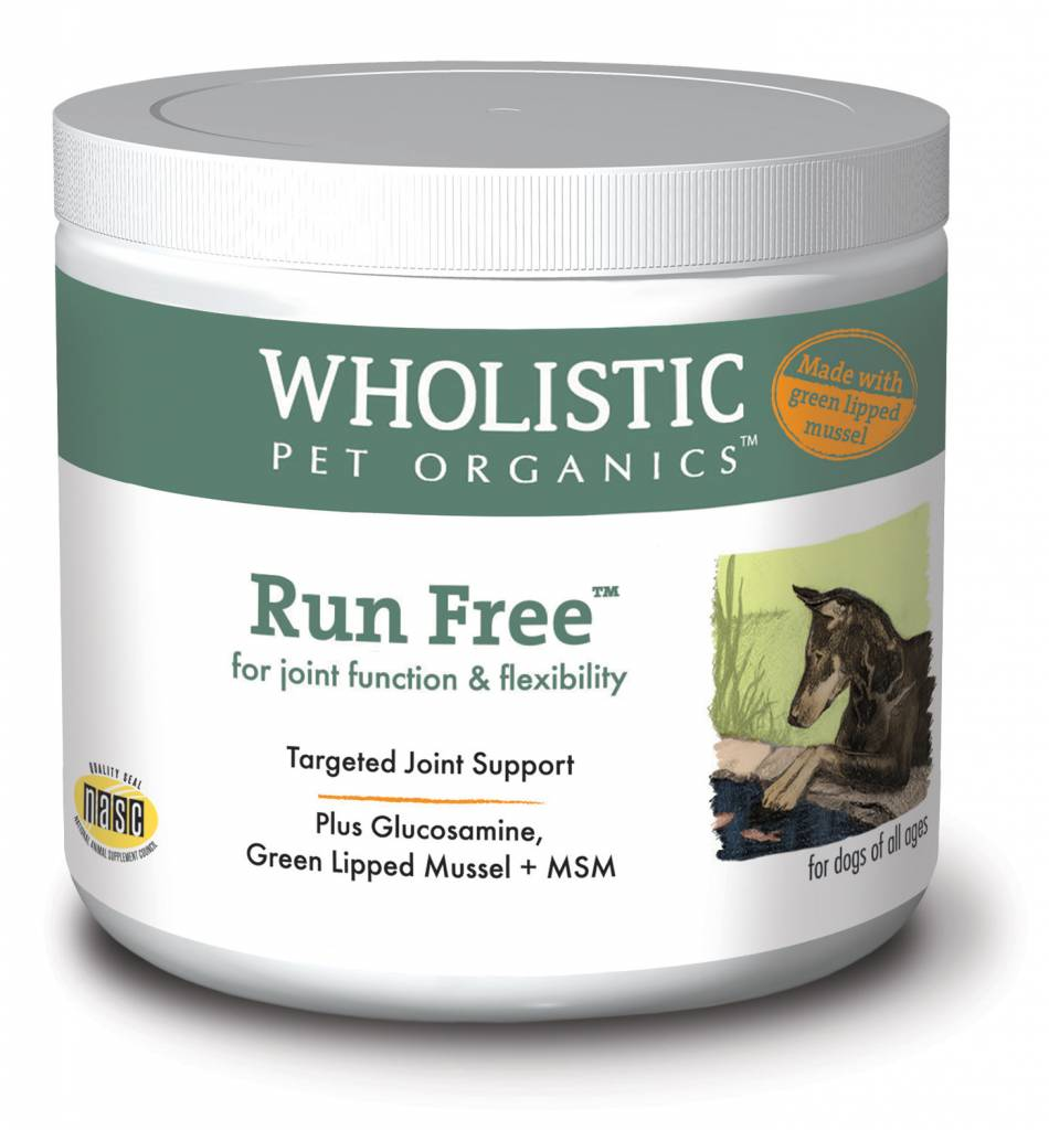 Wholistic Pet Organics Wholistic Run Free With Green Lipped Mussle