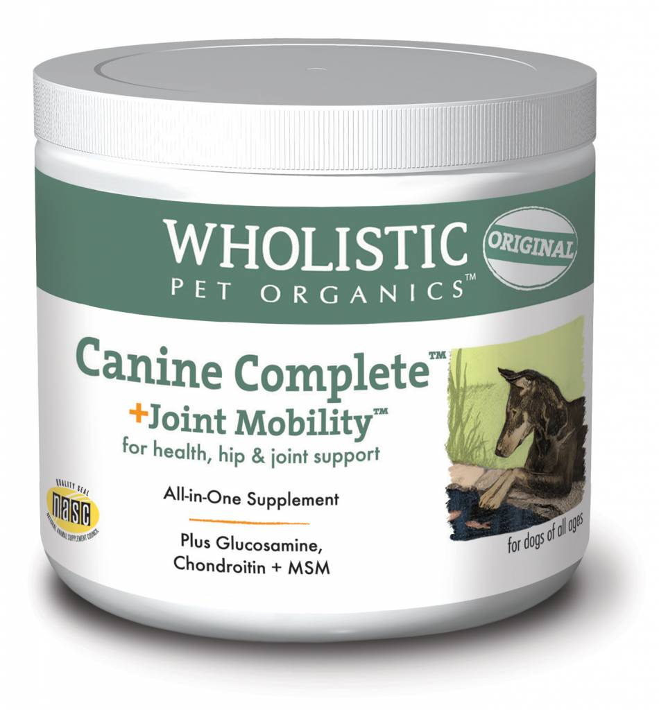 Wholistic Pet Organics Wholistic Canine Complete Joint Mobility