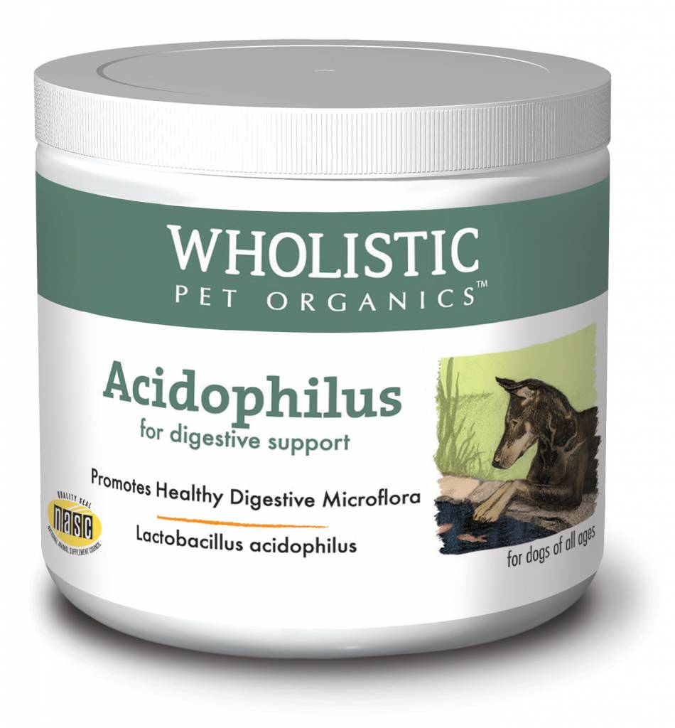 Wholistic Pet Organics Wholistic Acidophilus 4oz