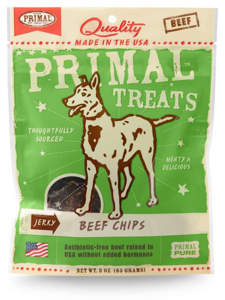 Primal Pet Foods Primal Jerky Beef Chips 3oz
