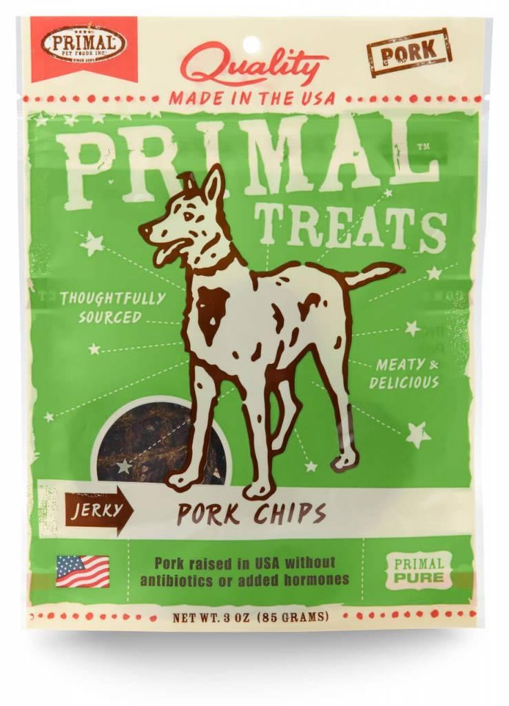 Primal Pet Foods Primal Jerky Pork Chips 3oz