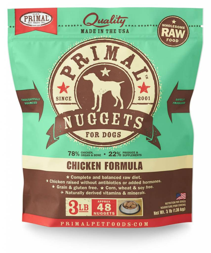 Primal Pet Foods Primal Raw Frozen Canine Chicken Formula