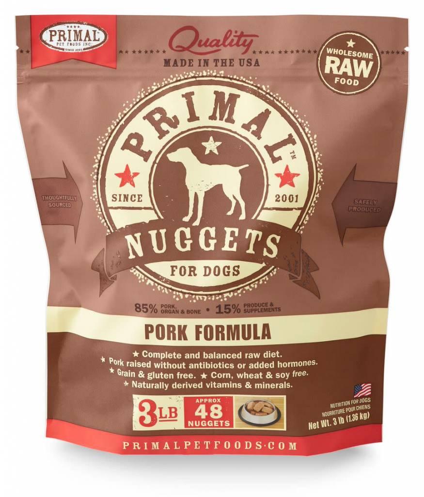 Primal Pet Foods Primal Raw Frozen Canine Pork Formula