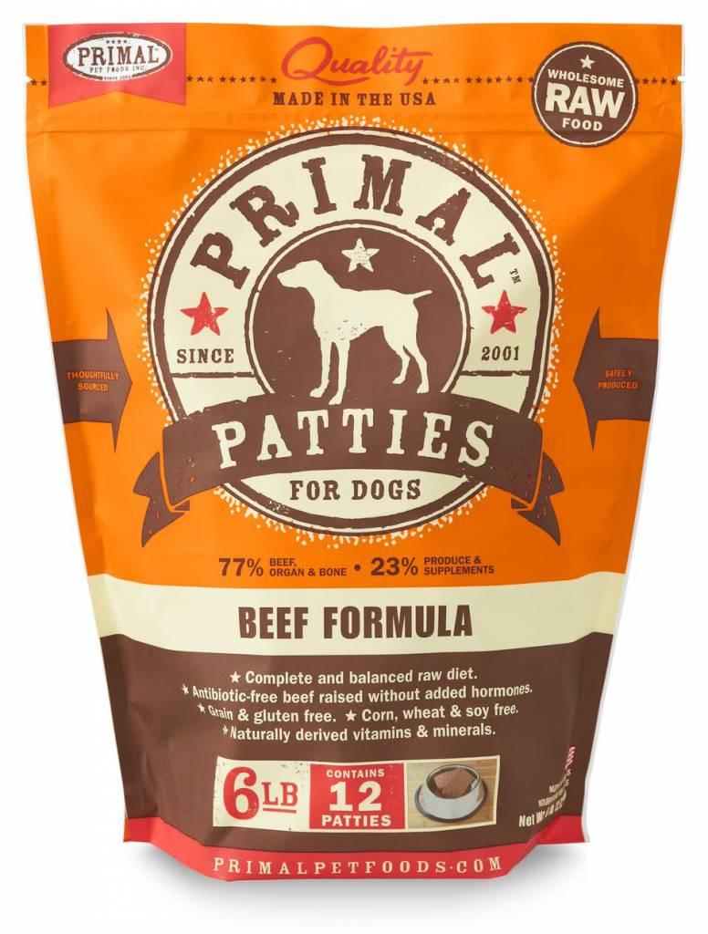 Primal Pet Foods Primal Raw Frozen Canine Beef Formula