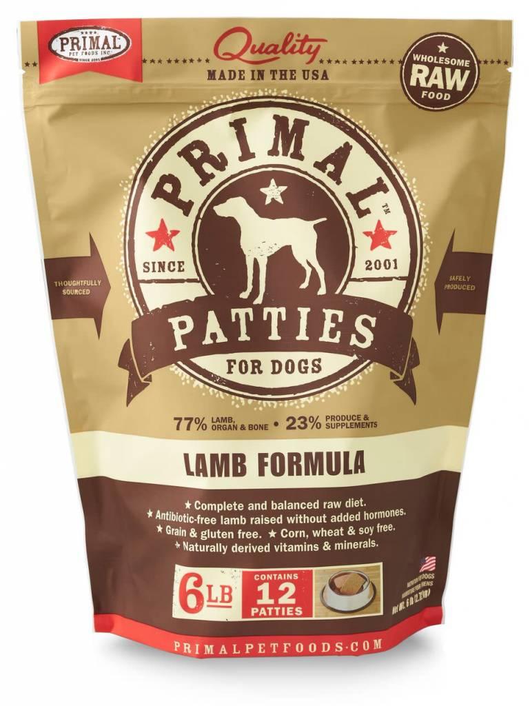 Primal Pet Foods Primal Raw Frozen Canine Lamb Formula