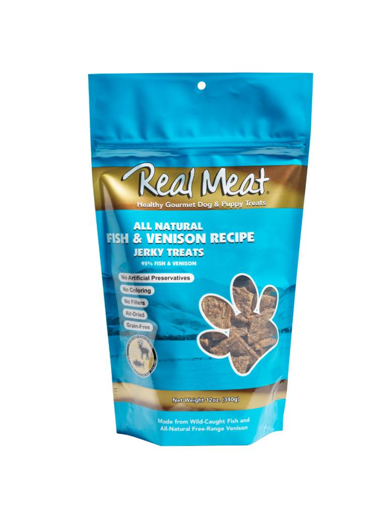 The Real Meat Real Meat Fish & Venison Jerky