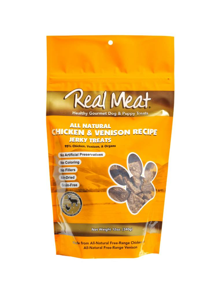The Real Meat Real Meat Chicken & Venison Jerky