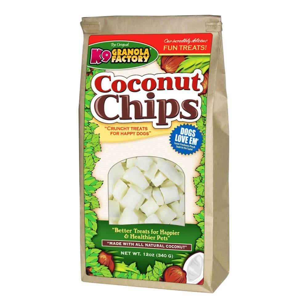 K9 Granola Factory K9 Granola Organic Coconut Chips 12oz
