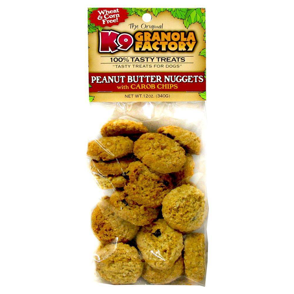 K9 Granola Factory K9 Granola Mini Peanut Butter & Carob Nugget 12oz