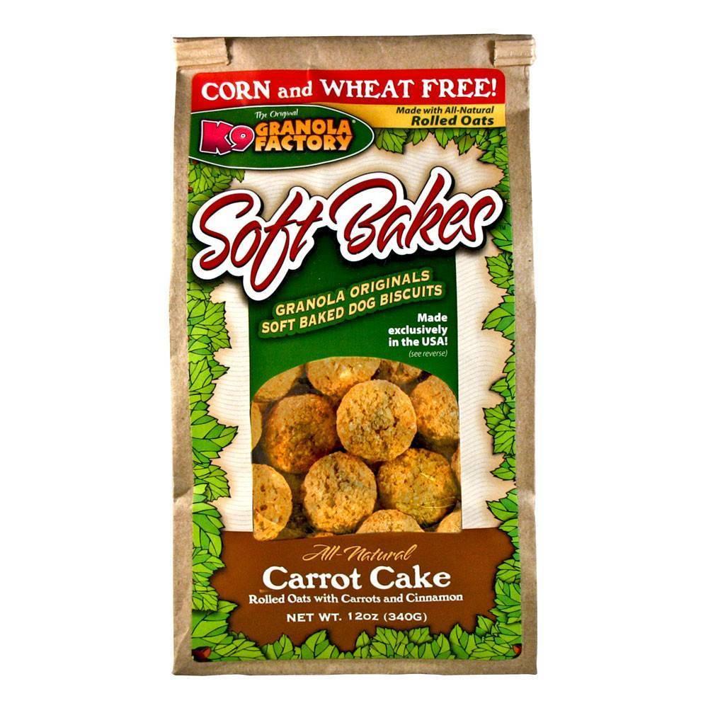 K9 Granola Factory K9 Granola Soft Bakes Carrot Cake 12oz