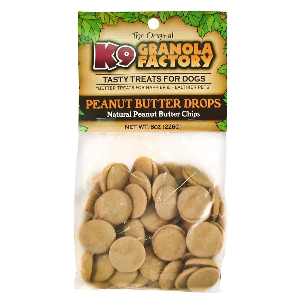 K9 Granola Factory K9 GRANOLA QUACKS PEANUT BUTTER 8oz