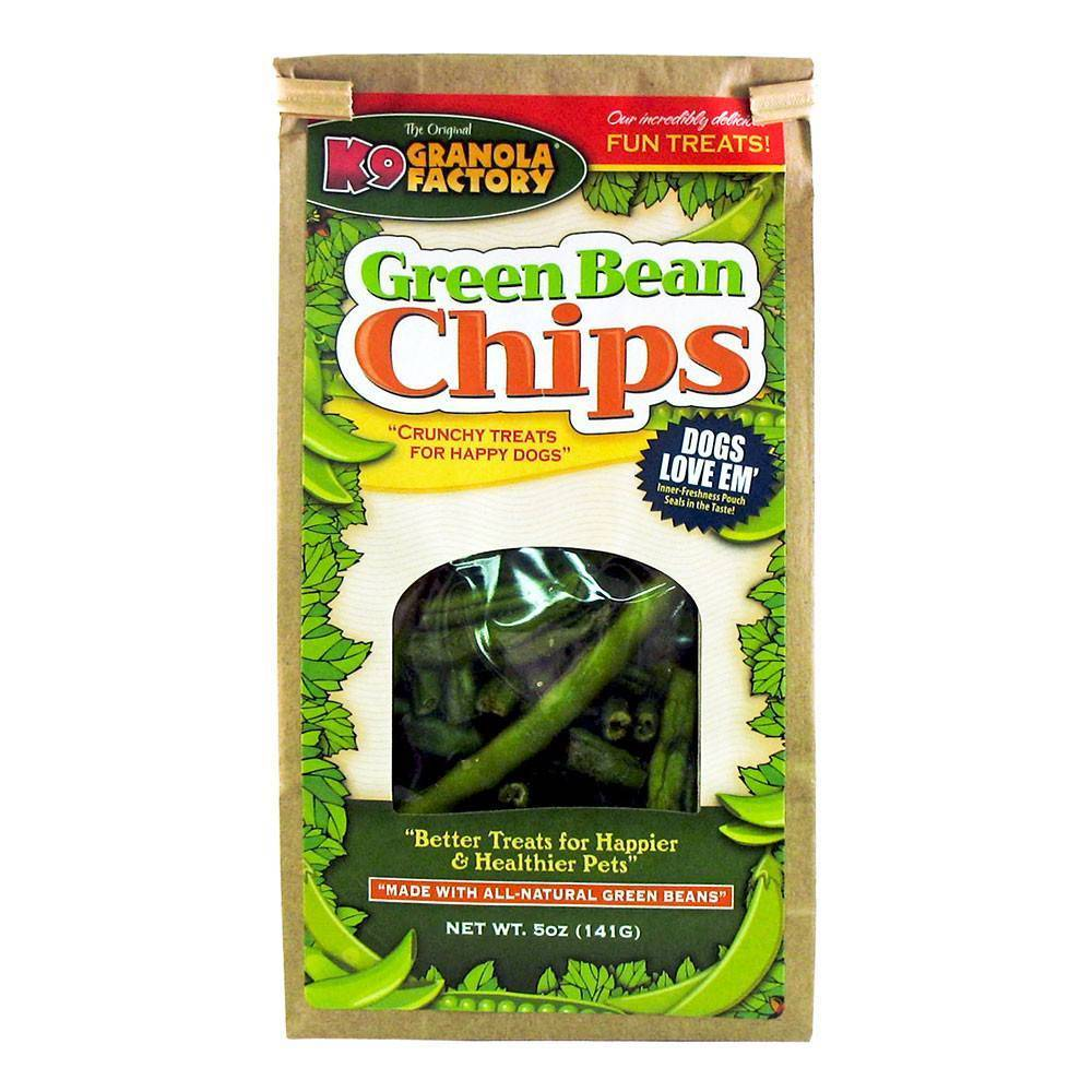 K9 Granola Factory K9 Granola Green Bean Chips 5oz