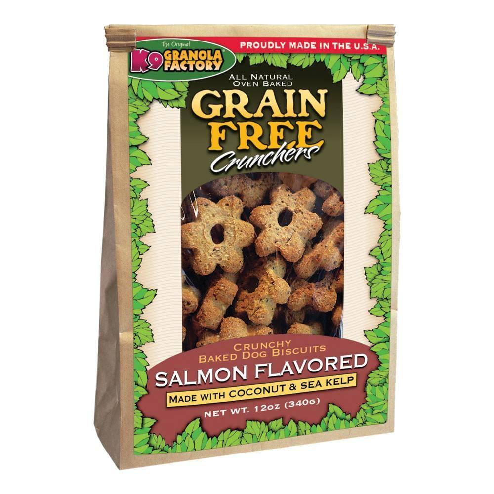 K9 Granola Factory K9 Granola Grain Free Salmon Crunch Coconut & Kelp 12oz