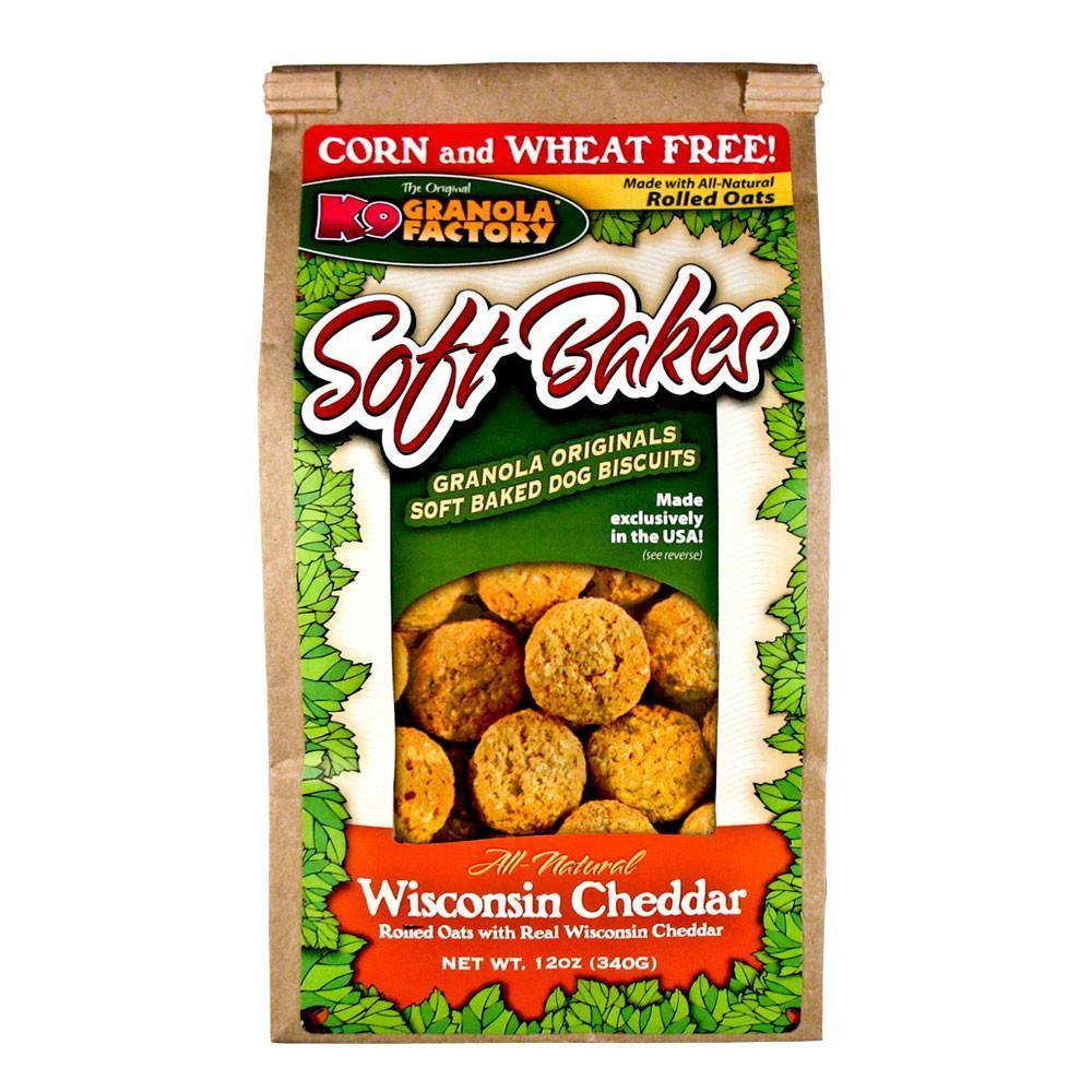 K9 Granola Factory K9 Granola Soft Bakes Wisconsin Cheddar 12oz