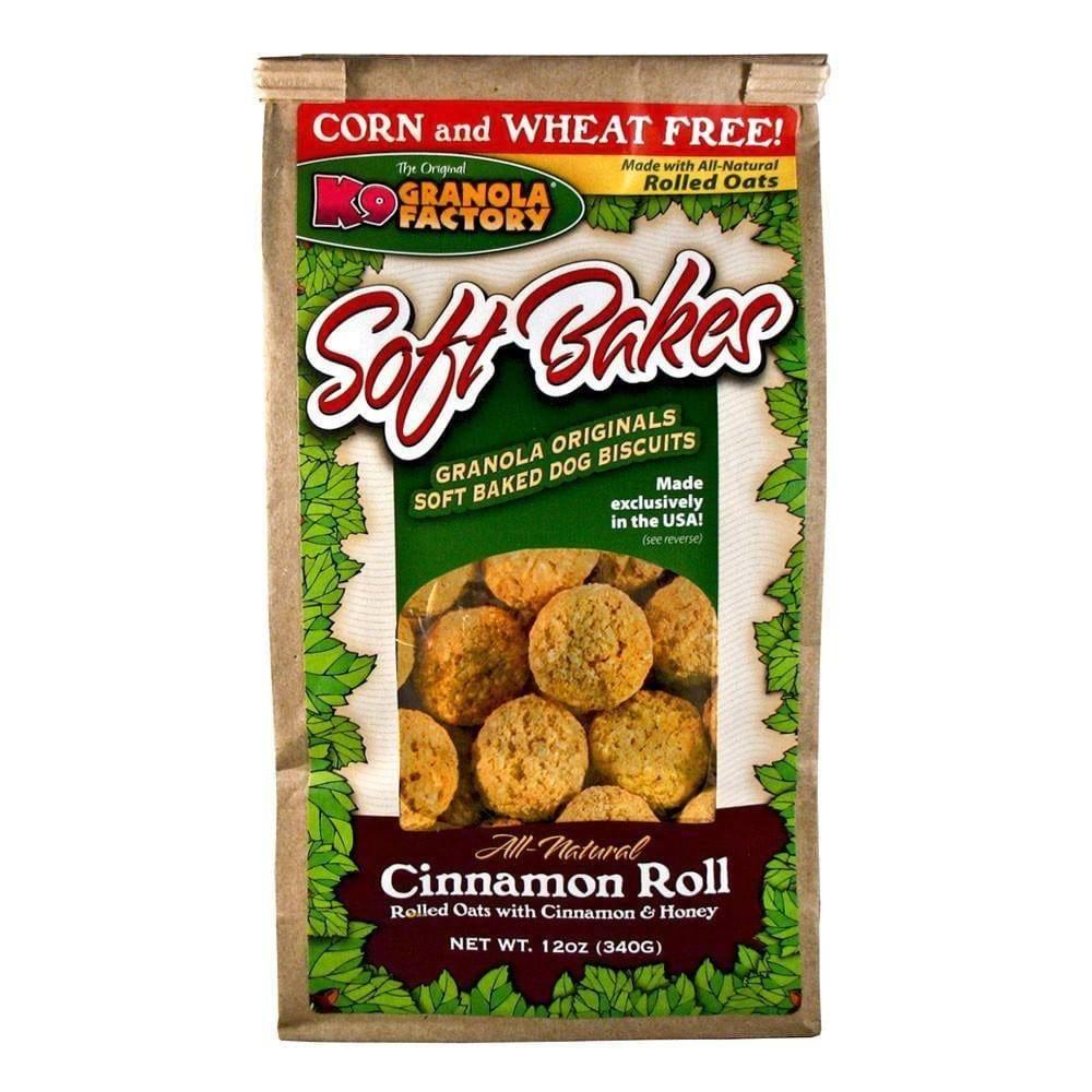K9 Granola Factory K9 Granola Soft Bakes Cinnamon Roll 12oz