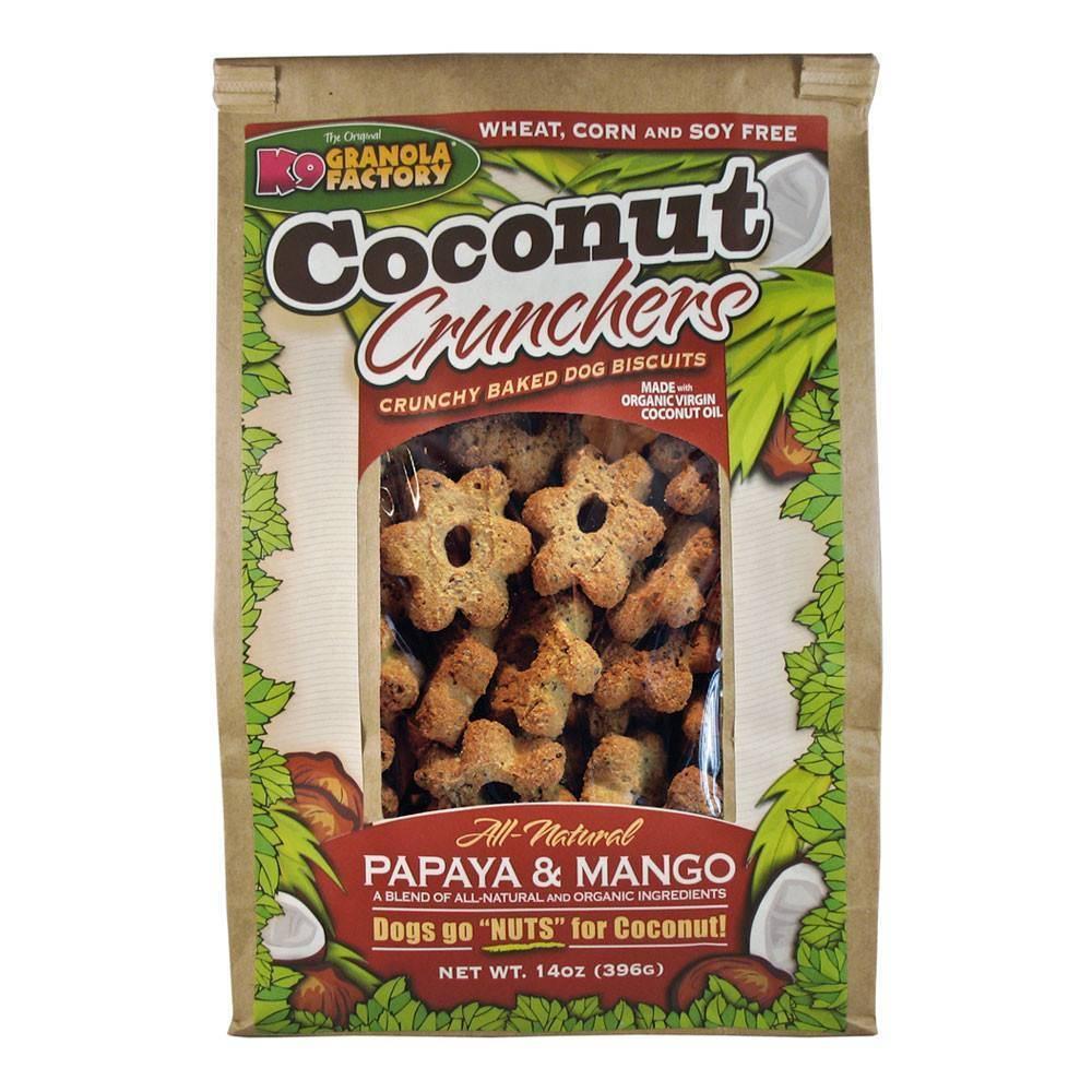 K9 Granola Factory K9 GRANOLA COCONUT CRUNCH PAPAYA & MANGO 14oz