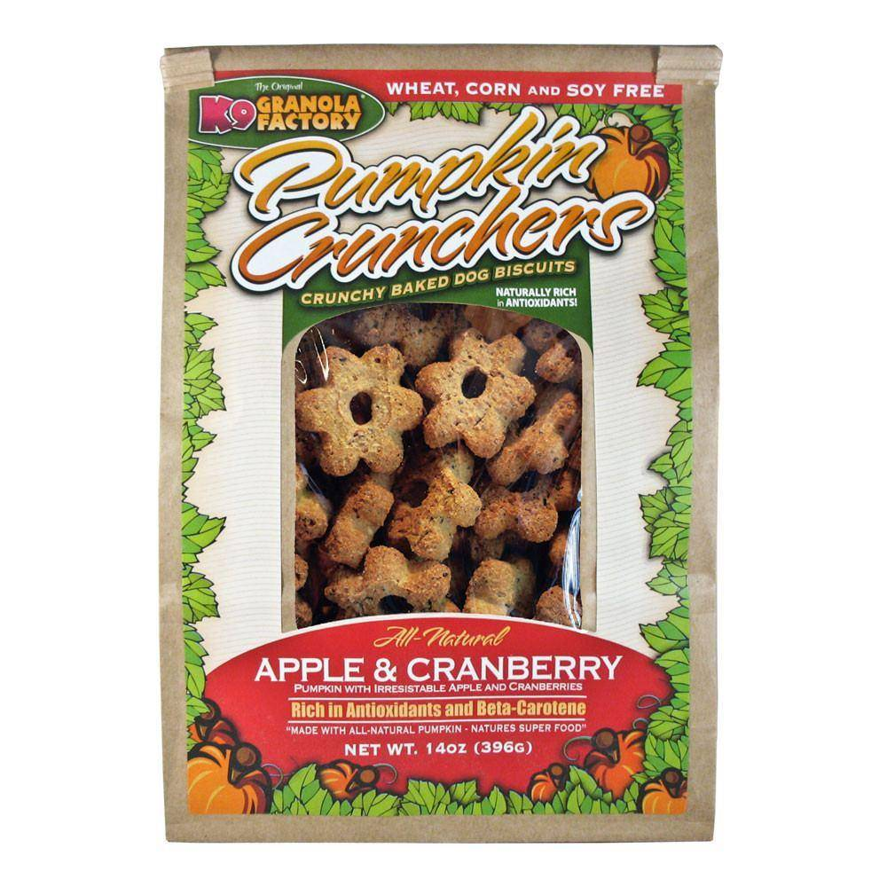 K9 Granola Factory K9 Granola Pumpkin Crunch Apple & Cranberry 14oz