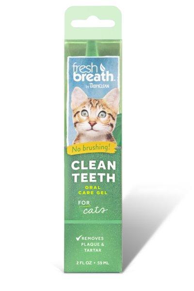 Tropiclean Tropiclean Fresh Breath Teeth Gel, Cat 2oz