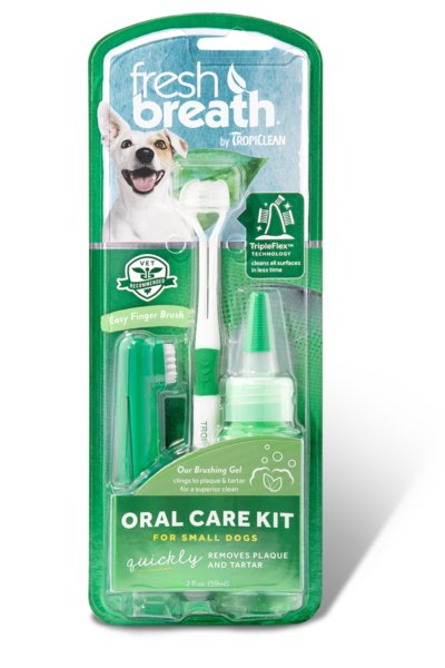 Tropiclean Tropiclean Fresh Breath Teeth Gel, Kit 4oz