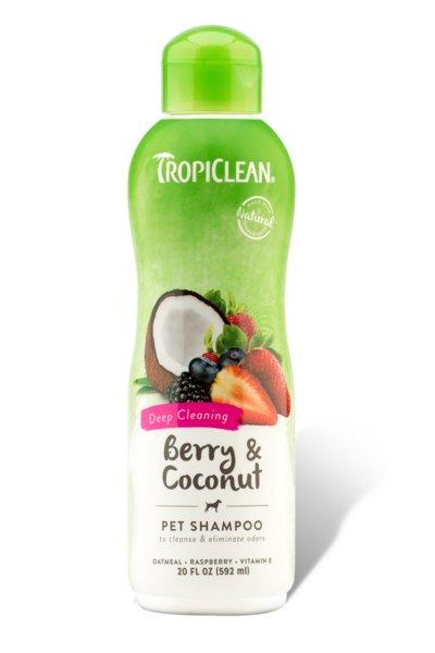 Tropiclean TROPICLEAN BERRY CLEAN, SHAMPOO 20oz