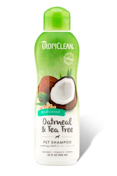 Tropiclean TROPICLEAN OATMEAL, SHAMPOO 20oz