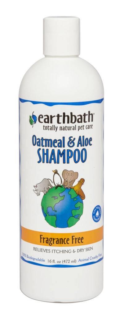 Earthbath Earthbath Oatmeal & Aloe Fragrance Free Shampoo 16oz