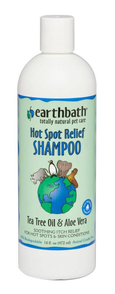 Earthbath Earthbath Hot Spot Relief Shampoo Tea Tree Oil & Aloe Vera 16oz