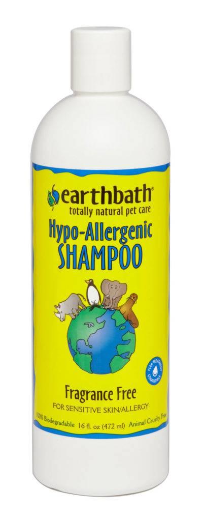 Earthbath Earthbath Hypo-Allergenic Shampoo Fragrance Free 16oz