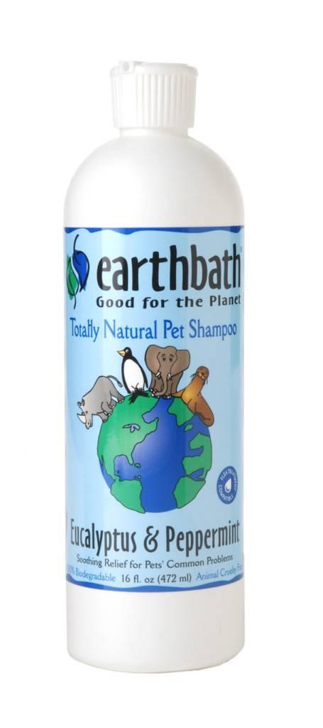 Earthbath EARTHBATH SOOTHING STRESS RELIEF SHAMPOO EUCALYPTUS & PEPPERMINT 16oz