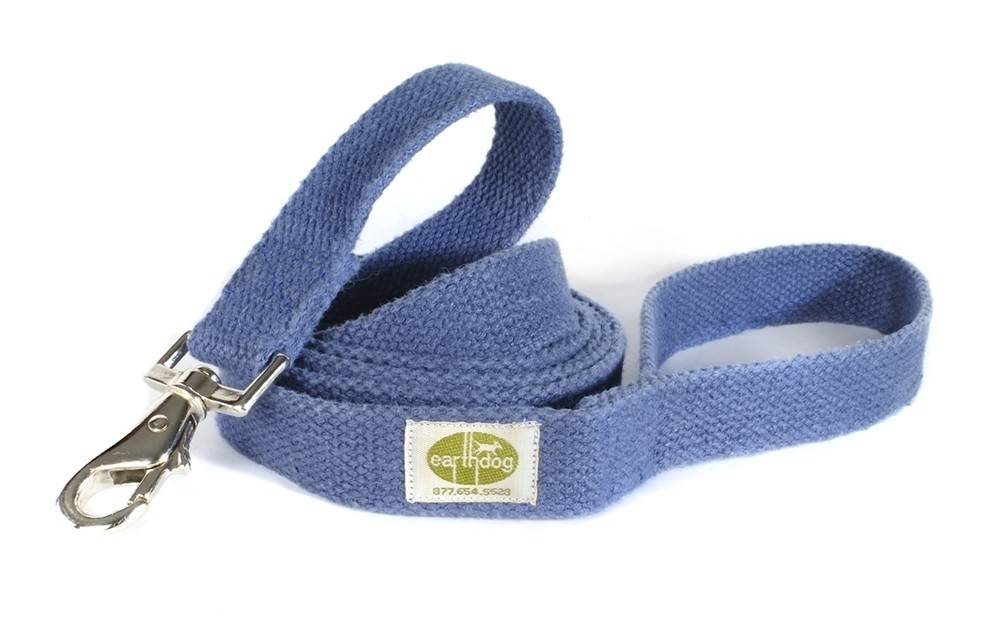 Earth Dog EARTH DOG BLUEBERRY HEMP LEASH 6' x 1""