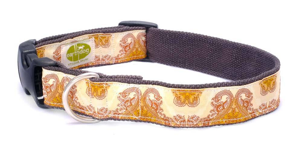 Earth Dog EARTH DOG GARCIA HEMP ADJUSTABLE COLLAR MED