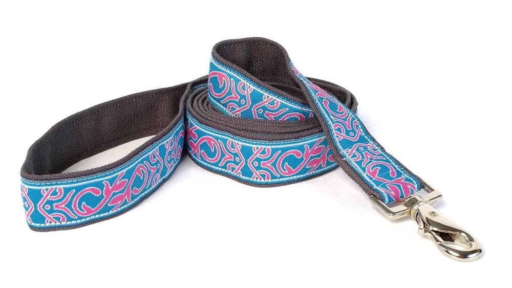 EARTH DOG EARTH DOG PHINEUS HEMP LEASH 6' x 1""